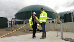 Stevie Leeks at Sheppey AD plant